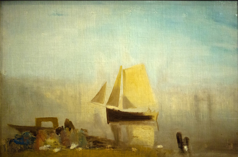 A Sail Boat on the Rouen 1827-28