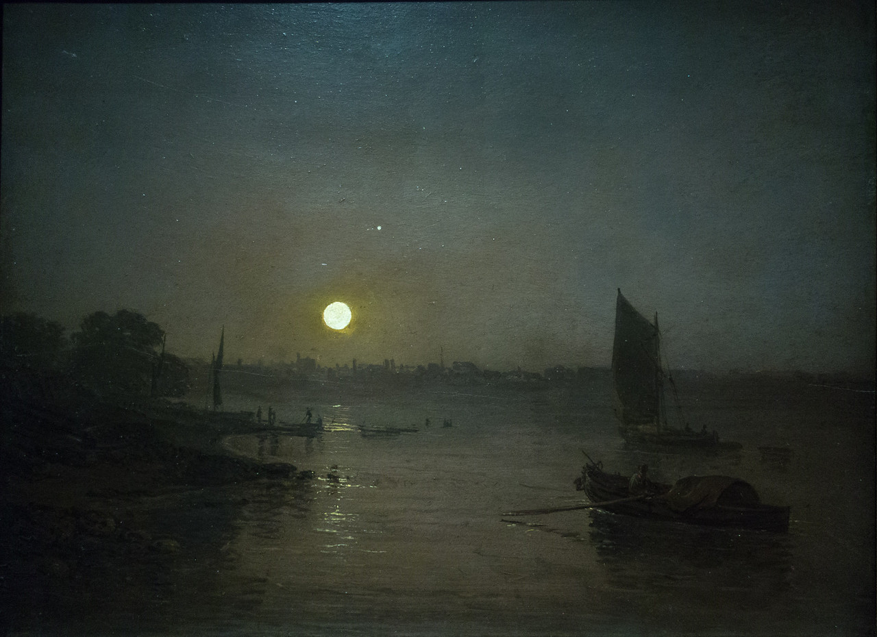 Moonlight, A Study at Millbank, exhibited 1797