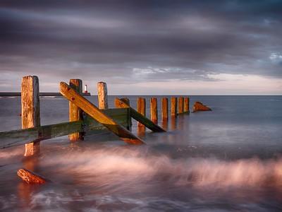 Waves at Berwick Beach
