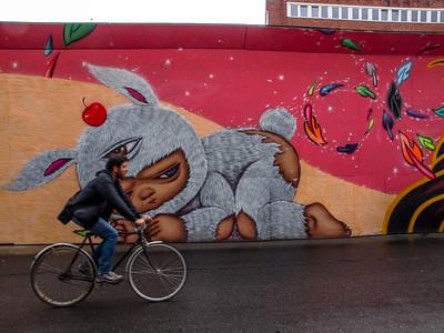 Urban Art in Copenhagen 2014. Photo: Martin Bager.