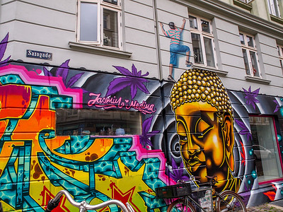 Urban Art in Copenhagen 2014. Photo: Martin Bager.