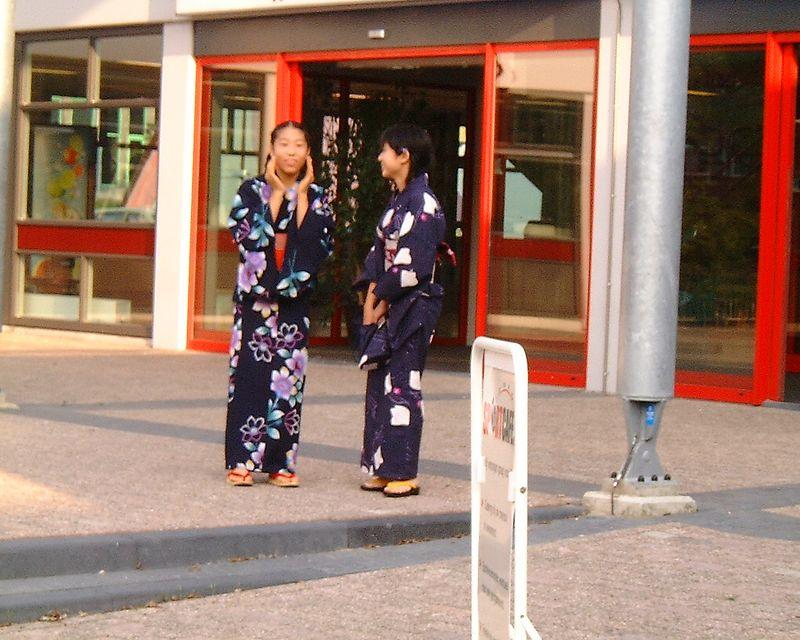 Japaneese girls  in AMsterdam...