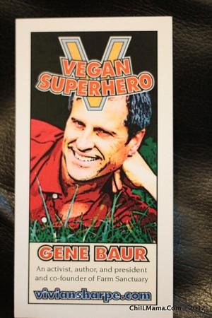 Vegan Superhero Trading Cards