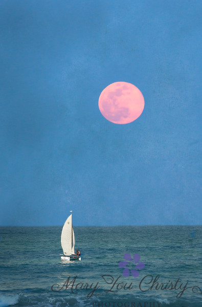 Rose Moon sail