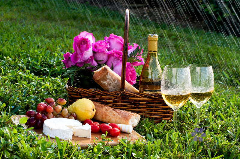 Rainy Day picnic