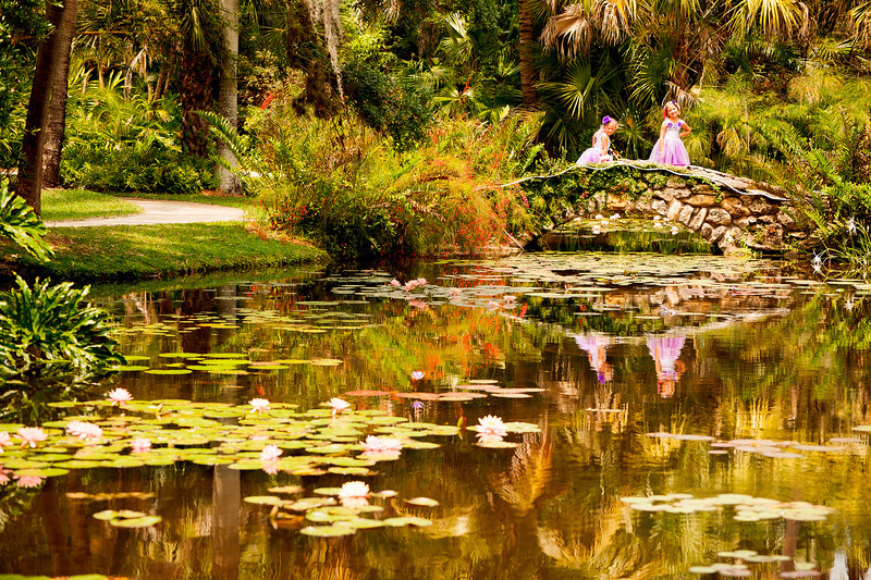 Fairies at McKee Gardens