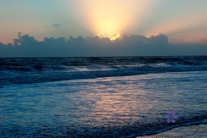 Blue Ocean Sunrise