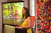 Alicia Quinn,  Project Director, speaks at Visit Philadelphia event at the Abington Arts Center.   Friday, June 20, 2014.  Photo by Geoff Patton