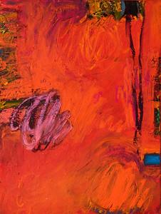 """Still, no. 1""; 24"" x 18""; oil & collage on canvas"