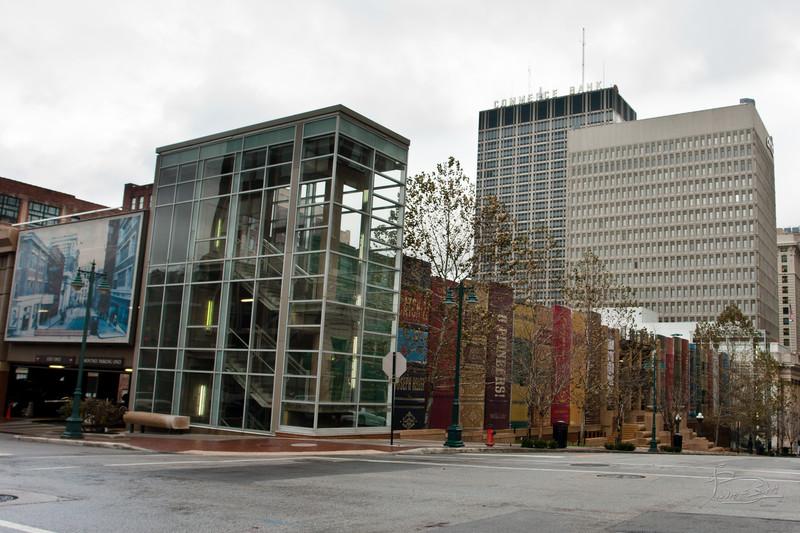 Kansas City Public Library parking garage, Missouri