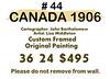 Blank Wall Card with paint slash