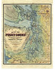 Puget Sound, 1877<br /> <br /> Puget Sound and the surrounding Washington Territory. Look at this map in X3 view! It is often rated as one of Lisa's most beautiful renditions.<br /> <br /> Hand-Painted Originals by Lisa R. Middleton to $900<br /> Limited Edition Prints, signed and numbered... $250<br /> Gift Prints $150