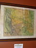 1844 Indian Territory of N. Texas, New Mexico to Missouri.<br /> <br /> A fabulously detailed map of N. Texas, New Mexico to the Mississippi River. Replete with Caravan trails, militia trails, Indian lands, etc.<br /> Then made BEAUTIFUL by the artist and a custom frame.