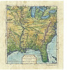 """A new Map of Louisiana and the River Mississippi 1746 <br /> Promptly copied and published by the English after De l'Isle published his French CARTE DE LA LOUISIANE in 1730. <br /> <br /> A truly beautiful larger format map of the Eastern portion of the United States. Great detail of earliest explorer routes and trails from the Midwest to the East Coast.<br /> <br /> Small gallery framed print is $50 at this exhibit. General 24x24"""" size for Limited Edition and Original Paintings."""
