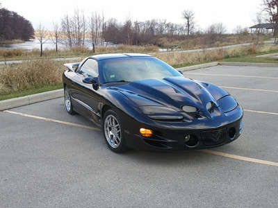From Illinois comes HottLS1Z with his black Trans Am with Corvette Z06 wheels.