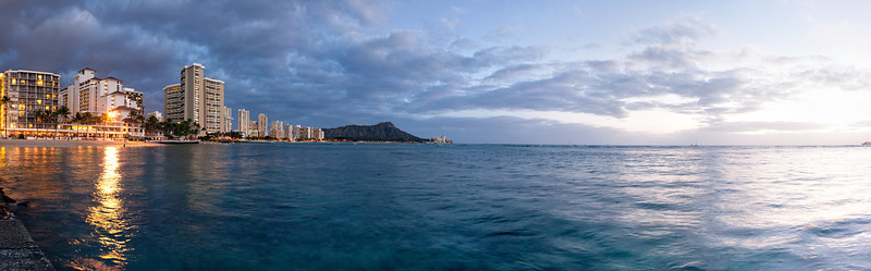 Waikiki At Sunset