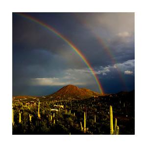 Monsoon Rainbows, Various Sizes.
