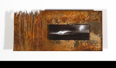 Metal photo on Recycled Metal.