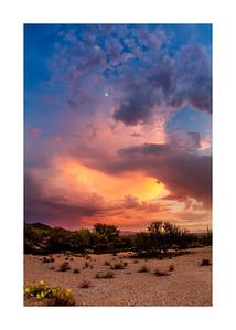 Monsoon Sunset , Various Sizes