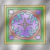 First successful attempt at making stained glass. All done using Photoshop Elements 5.0 with help from a tutorial by Wendy Williams. Later I added Olivia and Snoppy.