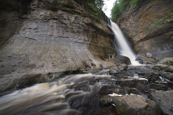 Upper Penninsula Michigan - Water Falls - Pictured Rocks