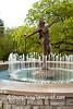 Clifton & Ludlow Fountain and Historic Gas Street Lamps, Cincinnati, Ohio