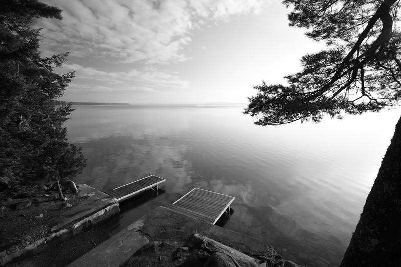 Morning on Schoodic Lake