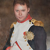 My son in Napoleonic uniform