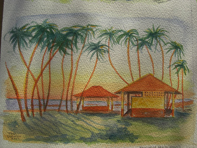 Hanapepe, Kauai'i, Salt Pond Beach, apr 8, 2012 CIMG7014