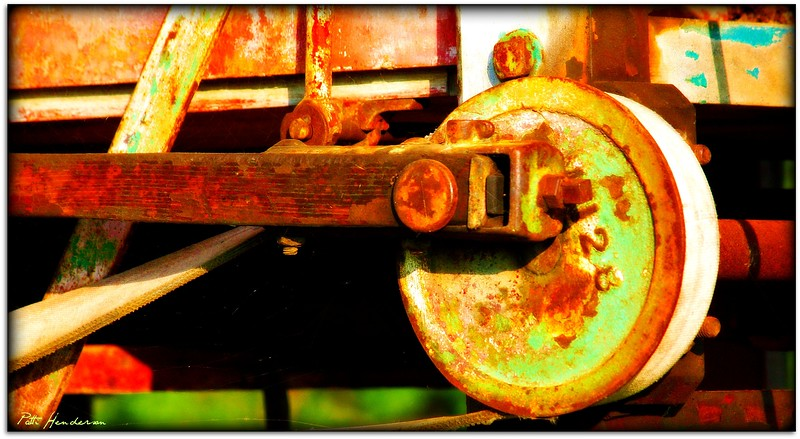Old Steam Engine, Forest, Ontario