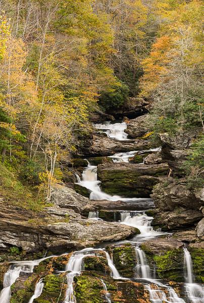 Cullasaja, Falls