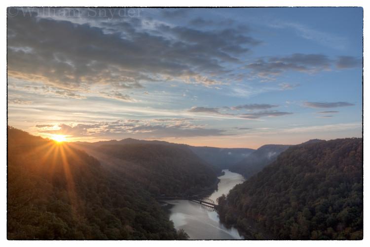 West Virginia sunrise.