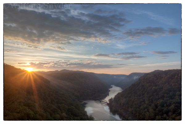 West Virginia sunrise.