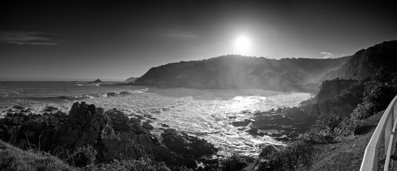 Houghton Bay on Wellington's south coast.