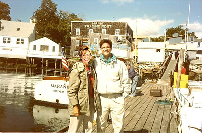 Ed Brown's Wharfside Gallery Boothbay Harbor, Artist pages