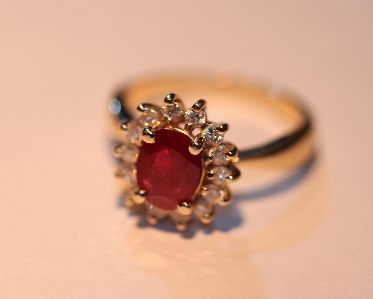 Rubies, the gem of fairytales