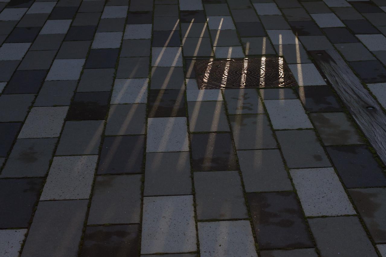 light patterns over other patterns