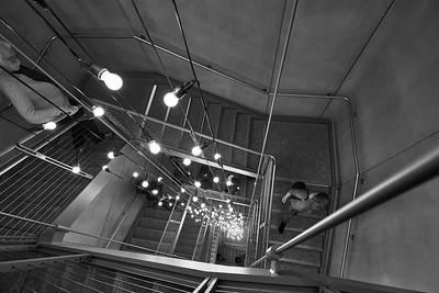 New York, New York - April 9, 2016 :  Whitney Museum Meatpacking Stingel Heizer et al  Credit: Robert Altman