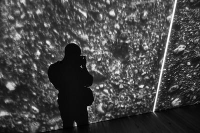 New York, New York - April 9, 2016 :  Whitney Museum Meatpacking Stingel Heizer et al Michael Heizer Credit: Robert Altman