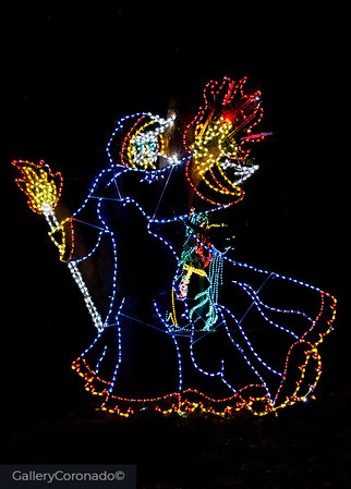 Witch in lights 2071