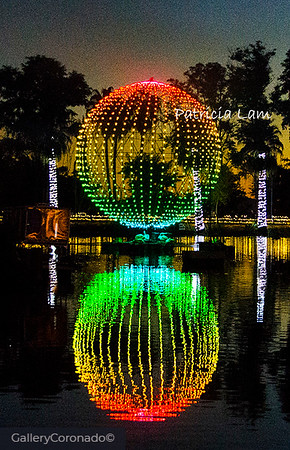 Red Green lighted ball water 2 c1970PatL