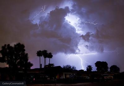 Lightning after bad storm Vernon 6568 3