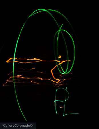 Green laser art PL 1124