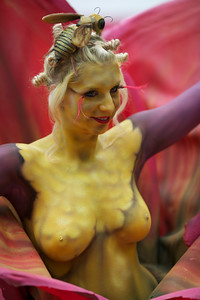 Word Body Painting Festival 2010