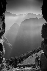 Window View Machu Picchu