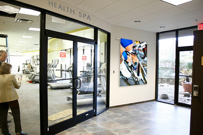 Health Spa Entrance