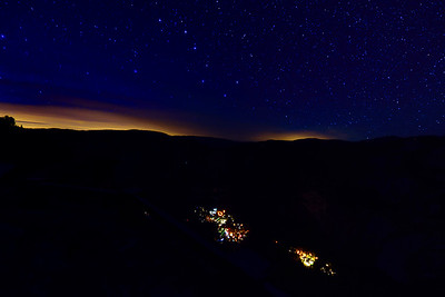 The Big Dipper over Yosemite Village
