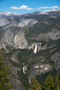 Nevada Fall and Vernal Fall
