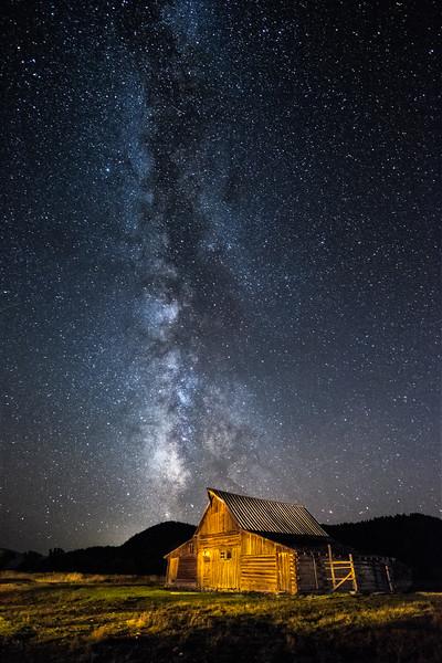 Milky Way in Grand Teton National Park