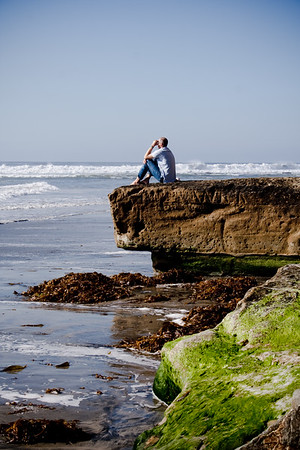 lost in thought<br /> <br /> Solana Beach, CA